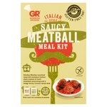 Gordon Rhodes Italian Style Saucy Meatball Meal Kit