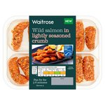 Waitrose Wild Salmon in seasoned crumb