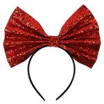 Paperchase GIANT GLITTER BOW HEADBAND