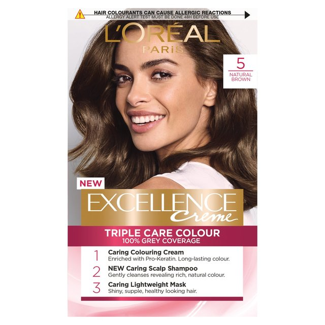 Loreal Excellence Natural Brown From Ocado