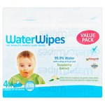 WaterWipes Gentle All Over Cleansing Wipes with Soapberry 4 x 60 per pack