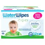 WaterWipes Gentle All Over Cleansing Wipes with Soapberry 12 x 60 pack 12 x 60 per pack