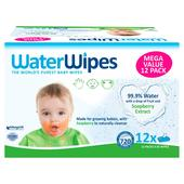 WaterWipes Gentle All Over Cleansing Wipes with Soapberry 12 x 60 pack
