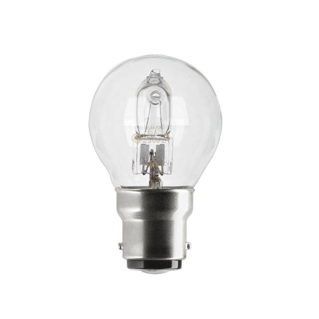 GE Lighting Halogen Mini Globe Light Bulb B22 BC 20W (1)