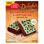 Betty Crocker Delights Belgian Chocolate & Mint Flavour Brownie Cake Mix