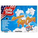 Jollytime Microwave Natural Popcorn