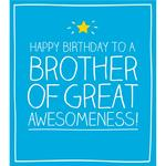 Happy Jackson Happy Birthday Brother Birthday Card