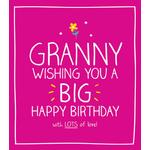 Happy Jackson Granny Happy Birthday Card