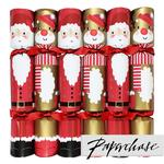Paperchase Santa & Rudolph Christmas Crackers