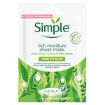 Simple Rich Moisture Sheet Mask
