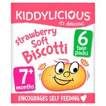 Kiddylicious Strawberry Biscotti