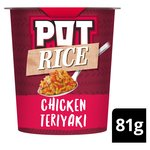 Pot Rice Chicken Teriyaki Snack Pot