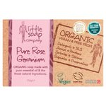 Little Soap Co Organic Rose Geranium Bar Soap
