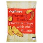 Plantain Crisps with Chilli Waitrose