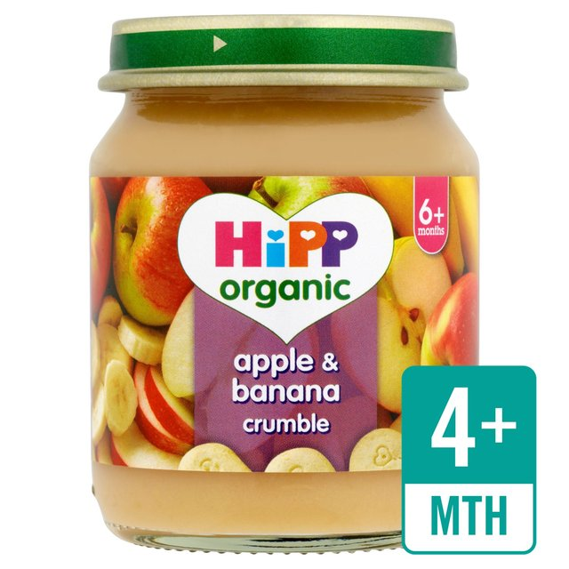 HiPP Organic Apple & Banana Crumble