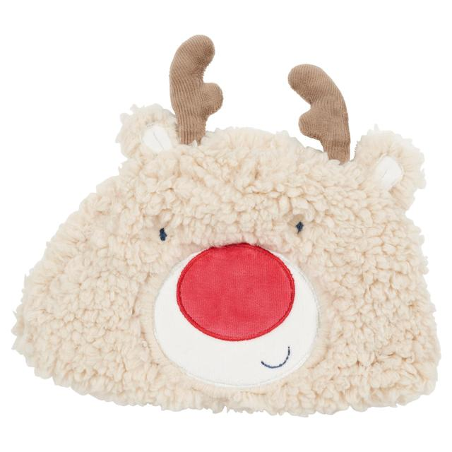 Waitrose Mini Reindeer Fleece Hat