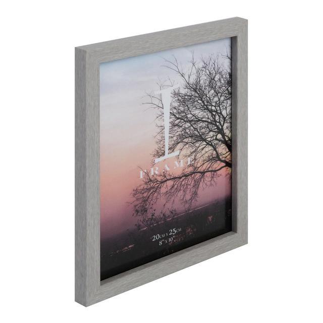 Iframe Plastic Grey Photo Frame 8 X 10 From Ocado