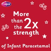 Calpol Sugar Free Paracetamol Strawberry Sachets, 6+yrs