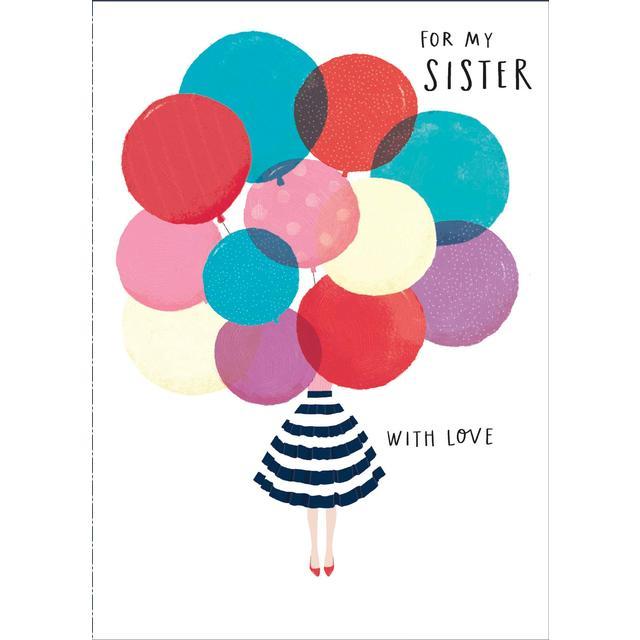 Sister Birthday Card From Ocado