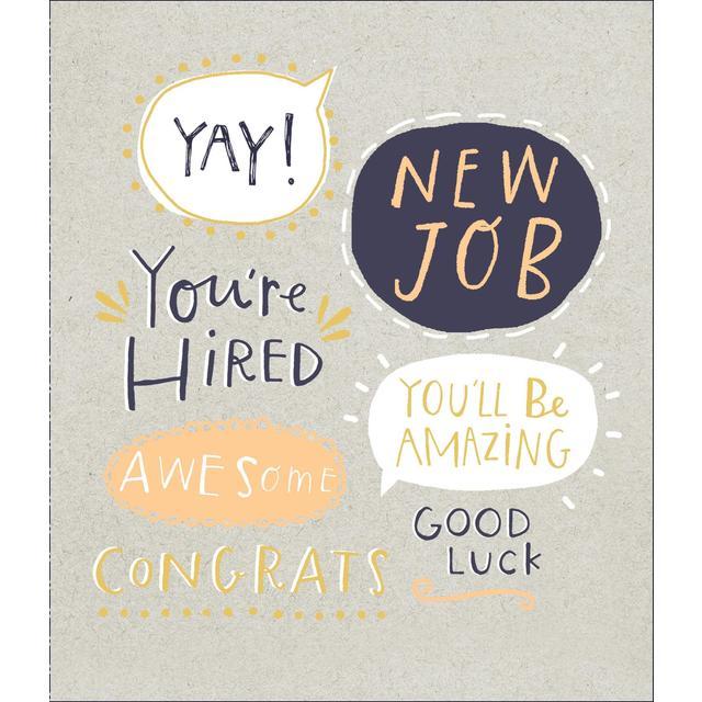 new job congratulations card