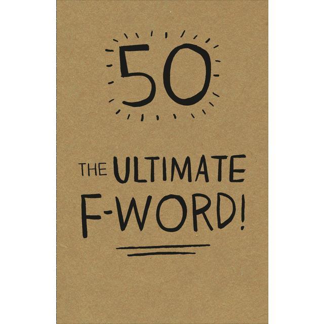 50th Birthday Card Ocado
