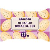 Ocado 10 Garlic Bread Slices