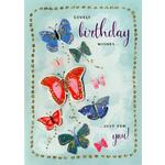 Hand Finished Lovely Birthday Card