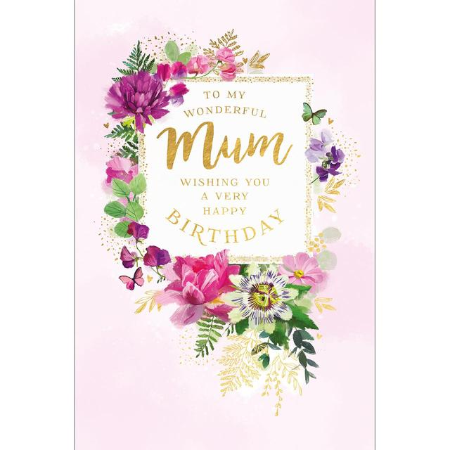 Wonderful Mum Birthday Card From Ocado