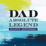 Legend Dad Birthday Card