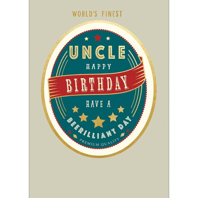 Uncle Birthday Card From Ocado