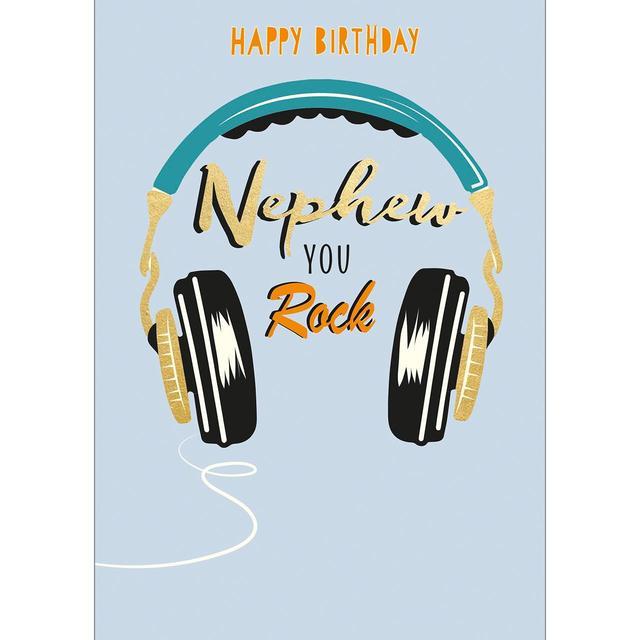 Awesome Nephew Birthday Card Ocado Personalised Birthday Cards Veneteletsinfo
