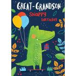 Great Grandson Birthday Card