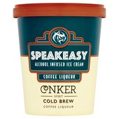 Speakeasy Coffee Liqueur Alcohol Infused Ice Cream