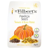 Mr Filberts Pumpkin Seeds with Turmeric & Black Pepper
