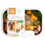 Waitrose Easy to Cook Chicken in Creamy Veloute Sauce with Veg