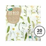 Spring Meadow Compostable Paper Napkins