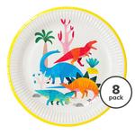 Talking Tables Dinosaur Plate, 23cm