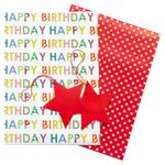 Waitrose Happy Birthday Giftwrap Pack
