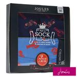 Joules Sock & Pant Gift Set, Blue Lobster, Size Small/ Size 7 - 12