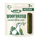 Lily's Kitchen Woofbrush Natural Daily Dental Chew Medium Dog Multipack