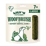 Lily's Kitchen Woofbrush Natural Daily Dental Chew Large Dog Multipack