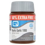 Quest Kyolic Garlic 1000mg Extract Tablets - 50% Extra
