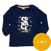 Waitrose Mini Space Explorer Graphic T-Shirt