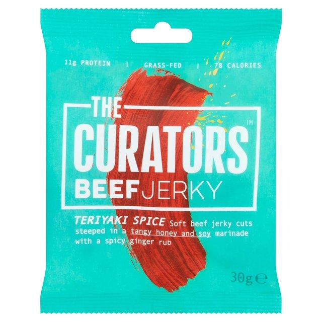 The Curators Teriyaki Spice Beef Jerky Ocado