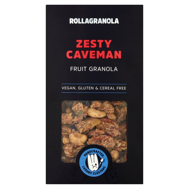 Rollagranola Zesty Caveman Granola