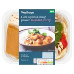 Waitrose Cod, Squid & King Prawn Keralan Curry