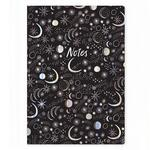 Moonbeams A4 Notebook by Ohh Deer