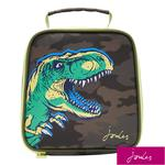 Joules Lunch Bag, Green Camo Dino