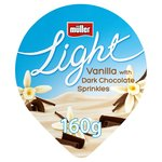 Muller Light Smooth Vanilla & Dark Chocolate Yoghurt