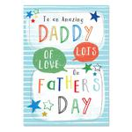 Laura Darrington Amazing Daddy Father's Day Card